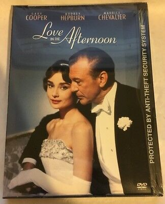 Love in the Afternoon (DVD, 2002) RARE OOP Original WB Release NEW and SEALED