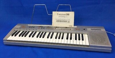 Vintage 80's Casio Casiotone CT-310 Keyboard Synthesizer Piano 49 Keys Repair