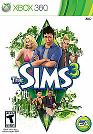 The Sims 3 (Microsoft Xbox 360, 2010) COMPLETE
