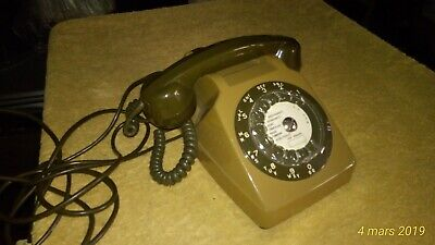 vintage TELEPHONE SO-CO-TEL S63 PTT 1982