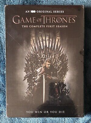 Game of Thrones: The Complete First Season (5-disc DVD set, 2012) SEALED