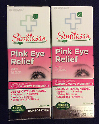 Similasan PINK EYE RELIEF   EXPIRATION 09/0221  Pack Of 2
