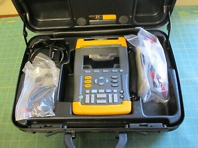 TEST EQUIPMENT * SCOPEMETER * FLUKE * 196 * 100MHz 1GS/S