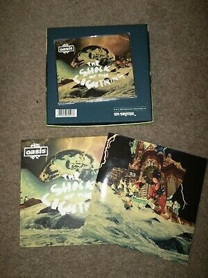 Oasis  Definitely Maybe , Cd + DVD Box Set , Sad Song + Booklet New