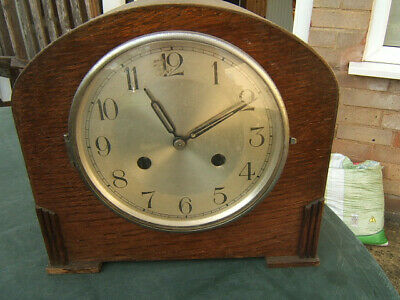 Art  Deco Mantle clock - for parts, not working.