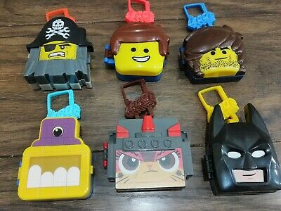 6 Lego movie 2 Happymeal McDonald's Toys