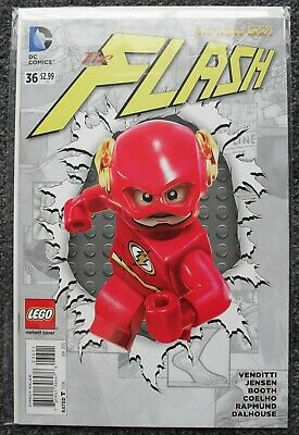 Dc Comics - The Flash #36 - Lego Variant Cover - New - M/nm