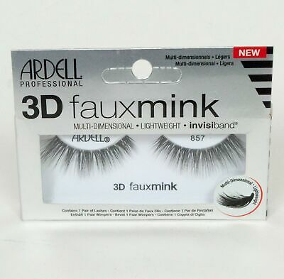 d7f5202efe3 Ardell Professional Fauxmink or 3D Fauxmink Eyelashes 814, 857, or 853 Pick  One