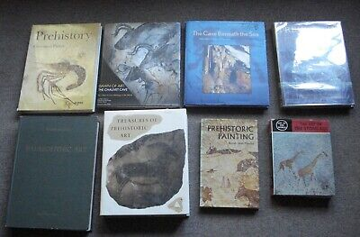 Collection of 10 good books on Paleolithic art,most oop.all w good illustrations