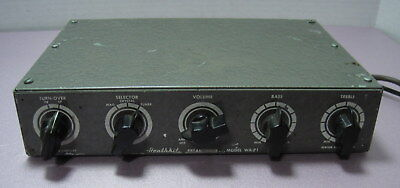 Heathkit Model WA-P1 Tube Preamp (Preamplifier)