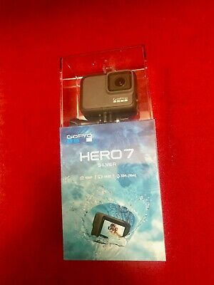 GoPro - HERO7 Silver HD Waterproof Action Camera - Silver - Brand New and Sealed
