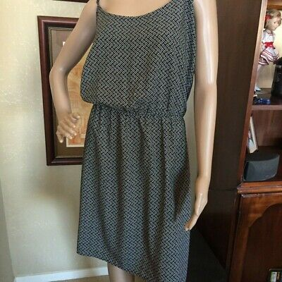 7cd5e13a147 WOMENS OLD NAVY Blue Floral Sundress Fit   Flare Above The Knee Size ...