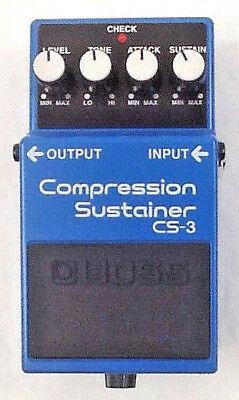 Boss CS-3 Compression Sustainer Pedal FREE PRIORITY SHIPPING