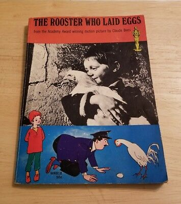 1968 1st Printing Print The Rooster Who Laid Eggs Robin Fox Laszlo Matulay Book