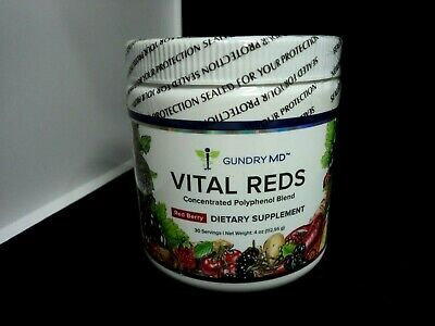 1x Gundry MD Vital Reds Dietary Supplement Polyphenol Red Berry AU Stock