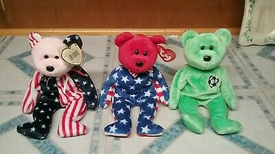 e65c647e3c6 TY BEANIE BABIES lot of TY Signature bears mint condition mint tags ...