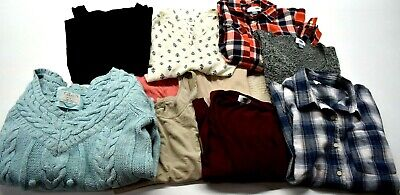 Old Navy Women's Large Various Styles & Colors Sweaters & Blouses Lot of 11