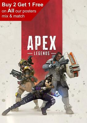 Apex Legends Game Poster A5 A4 A3 A2 A1