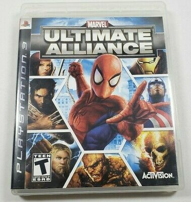 MARVEL: ULTIMATE ALLIANCE (Sony PlayStation 2, 2006) PS2