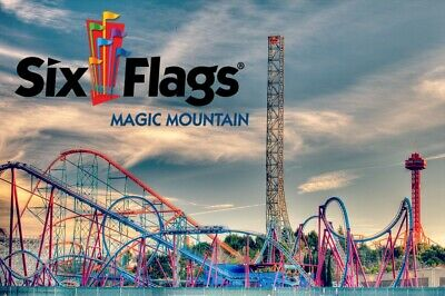 Six Flags Magic Mountain One-Day-Ticket
