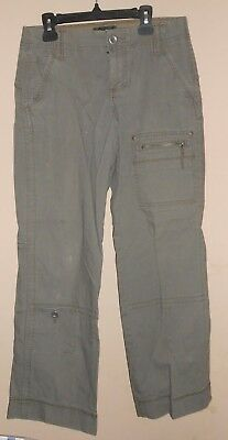 "Womens 'Eddie Bauer Petite' Size 2 - Khaki Casual Pants Bottoms - 29"" x 28.5"""