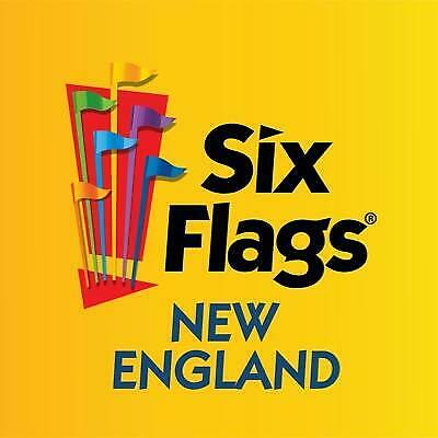 Six Flags New England One-Day-Ticket