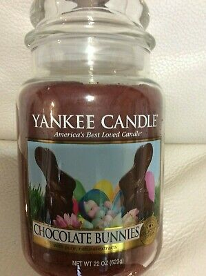 """22 oz Yankee Candle /""""Chocolate Bunnies/"""" Collector/'s Edition"""