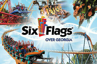 Six Flags Over Georgia One-Day-Ticket