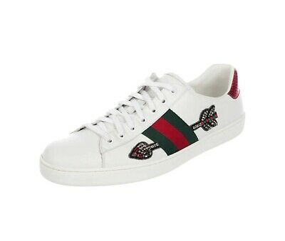 372e4b96917 GUCCI ACE EMBROIDERED Spade Shoes Sneakers -  241.00