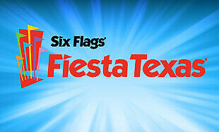 Six Flags Fiesta Texas One-Day-Ticket