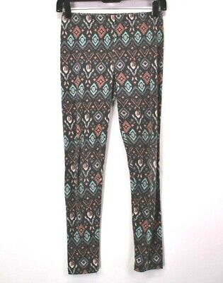 ff2c74aa598ff Rue 21 Women's Medium Spring Light Aztec Patterned Leggings Cotton Spandex  Gray