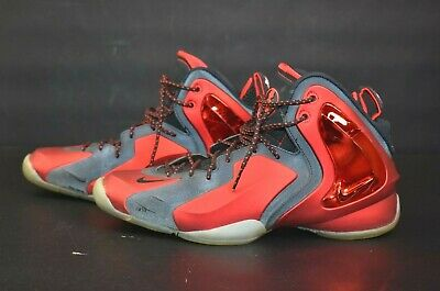 pretty nice 628ee d144b Nike Men s Sz 9 Lil Penny Posite University Air Basketball Shoes 630999-600  Red