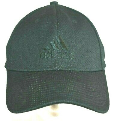 0ea45b19 Adidas Climate Adult L/XL Blackout Logo Fitted Hat - Polyester/Cotton -  Black