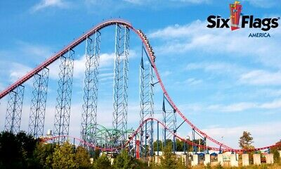 Six Flags Over America One-Day-Ticket
