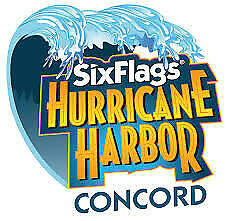 Six Flags Hurricane Harbor Concord One-Day-Ticket