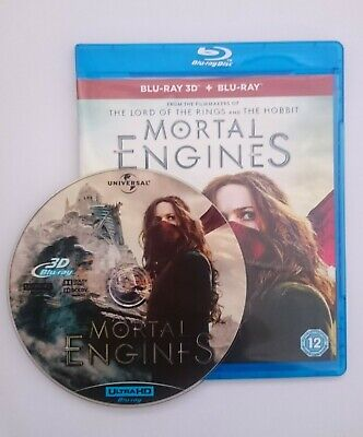 Mortal Engines [3D Blu-ray Disk] **Region Free**
