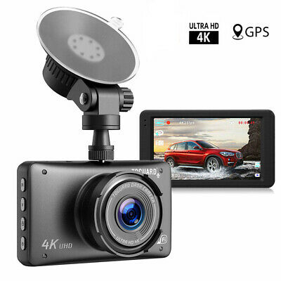 TOGUARD Dash Cam 4K Ultra HD 2160P WIFI GPS LCD Screen Car Camera Video Recorder