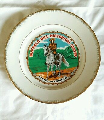 Vintage Buffalo Bill Historic Center Cody Wyoming Collector Plate I.B.T. Inc.
