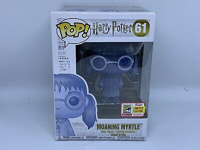 FUNKO POP 2018 SDCC Harry Potter #61 MOANING MYRTLE Comic Con Official Sticker