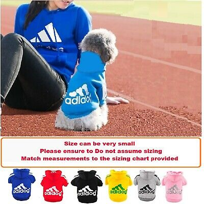Pet cat Dog Hoodie warm winter Jumper Clothing XS-XXL for small dog