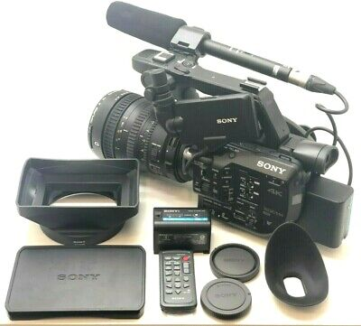 Sony Pxw-Fs5 4K Xdcam With 28-135Mm G Oss Lens + 2 Batteries (No Charger)