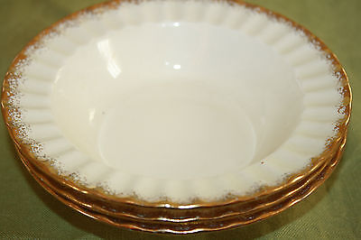 "The Edwin M. Knowles China Co. Usa  ""Kno948"" Pattern (2) Berry Bowls 6 1/4"""