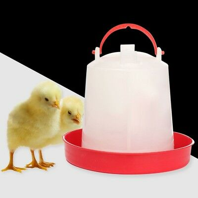 UK New Chicken Feeder Drinker Poultry Chick Hen Quail Bantam Food Water 1L Farm