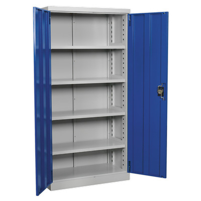 APICCOMBOF4 Sealey Industrial Cabinet 5 Shelf 1800mm [Industrial Workstations]