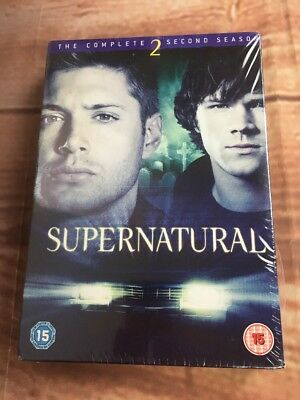 NEW Supernatural The Complete Second Series DVD Season  Sealed