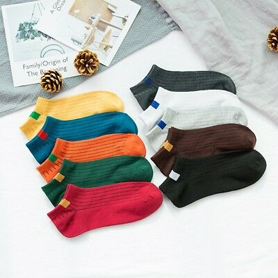 Unisex Men Women Cotton Ankle Sports Casual Socks Low Cut Short Boat Sock Warm