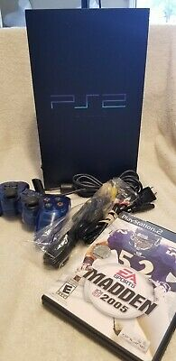 Sony PlayStation 2 Ps2 Complete with 1 controller and game Tested SCPH-39001