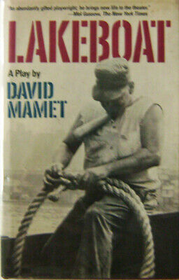 David Mamet / Lakeboat First Edition 1981