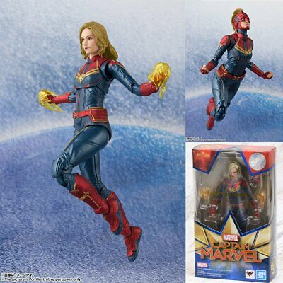 Bandai S.H.Figuarts SHF Marvel Captain Marvel 150mm Action Figure