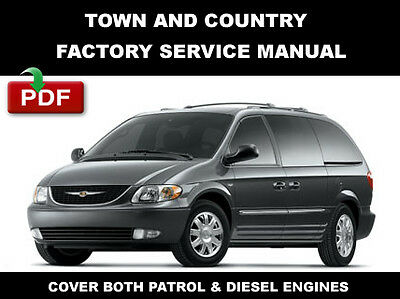 chrysler town & country 2006 - 2007 factory service manual + wiring diagram